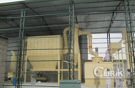 talc grinding mill